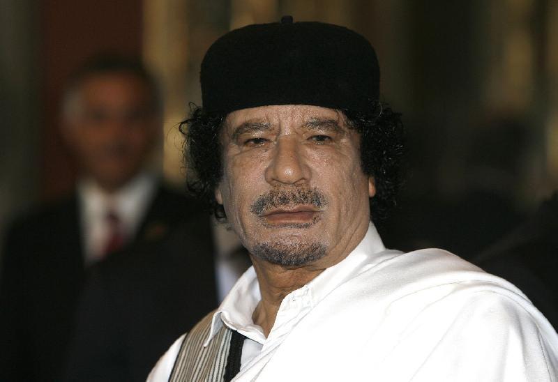 """È ucraina e lo segue ovunque, Wikileaks svela la """"voluttuosa"""" infermiera di Gheddafi"""