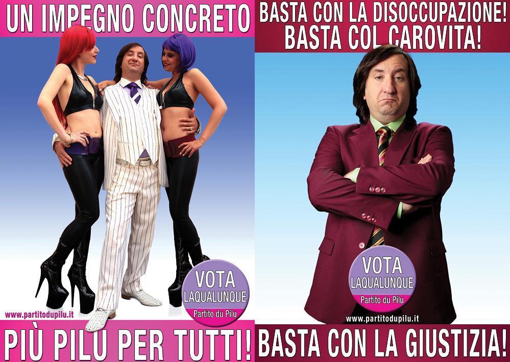 «Berlusconi è come Cetto la Qualunque»
