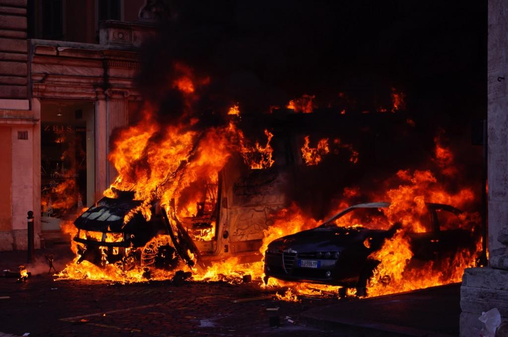 Il sacco di Roma: a devastare la capitale non erano solo i vandali – Photogallery