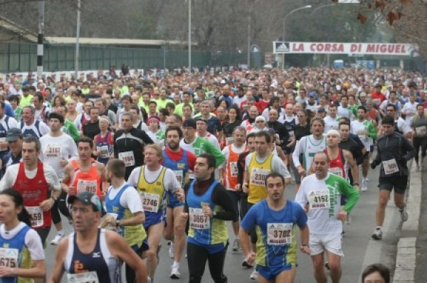"""Corsa di Miguel nella Capitale: """"Una gara portatrice di valori e una festa per tutti"""""""