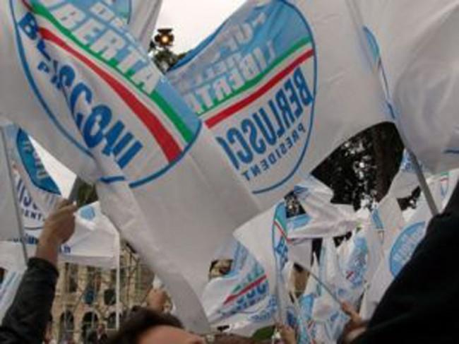 Il Pdl protesta contro i giudici a Milano