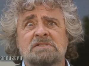Intervista show di Beppe Grillo ad Annozero