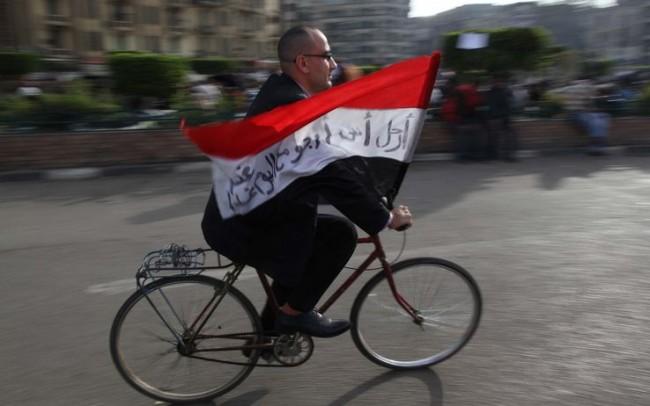 "Diario dall'Egitto: ""Mubarak steps down"""