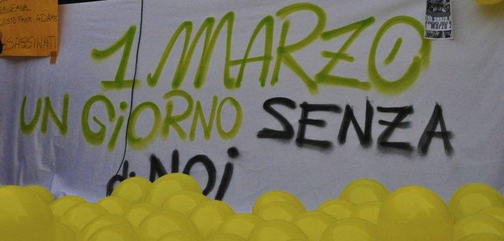 """""""Più diritti e solidarietà con il popolo libico"""": ecco il """"Primo Marzo"""" degli immigrati"""