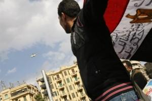 Manifestanti in Egitto