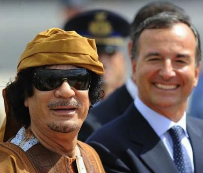 Frattini Gheddafi libia-723831