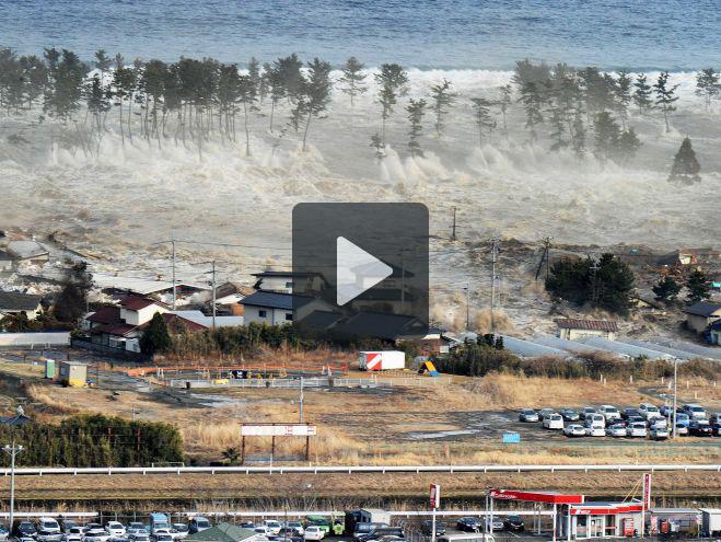 Terremoto in Giappone, una diga ha ceduto e travolto 1.800 abitazioni