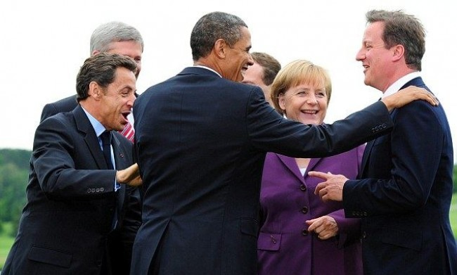 Libia: vertice tra i Grandi, Berlusconi non c'è