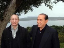 BERLUSCONI PUTIN1 e1303491842653 Putin prende spunto da Berlusconi, nasce Forza Russia