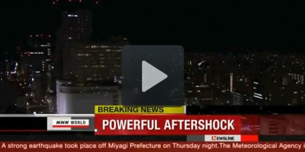 Nuova scossa di terremoto di magnitudo 7.4 in Giappone