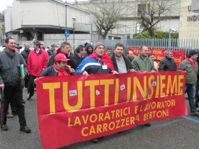 Ex Bertone, operai cedono al Piano Marchionne