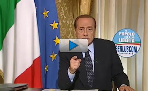 """Berlusconi, """"se vince la sinistra siamo tutti meno liberi"""""""
