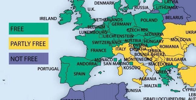 L'Editoriale – La Freedom House boccia l'Italia, di nuovo