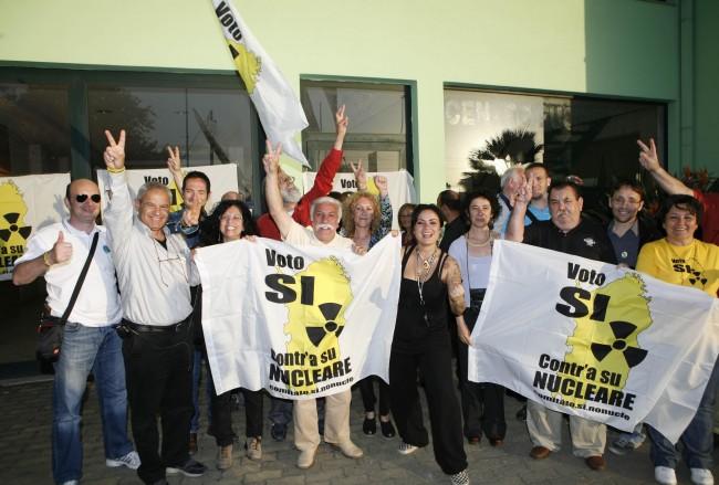 Nucleare bocciato in Sardegna, affluenza da record alle urne