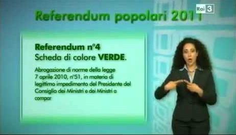 Referendum popolari 2011, ecco come si vota