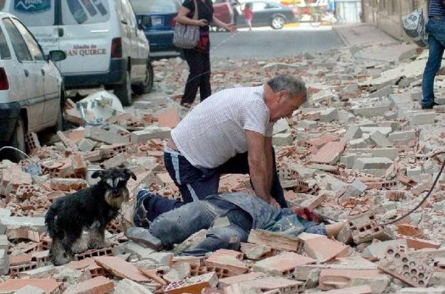 Terremoto in Spagna, crolli nella città di Lorca