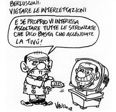 Vauro, le vignette ad Annozero (19.05.2011)