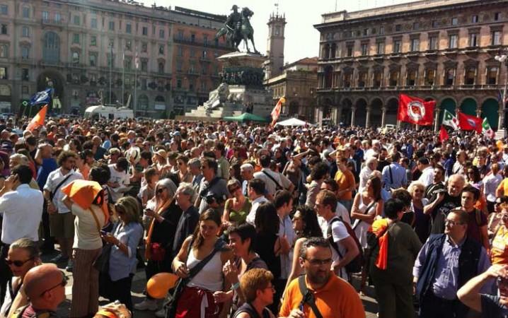 La vittoria di Giuliano Pisapia vista dalla piazza
