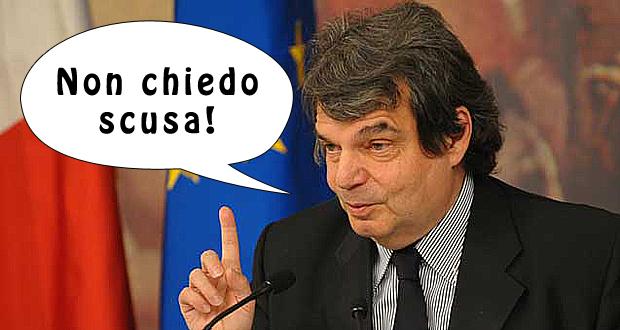 """Brunetta rincara la dose: """"non chiedo scusa"""""""