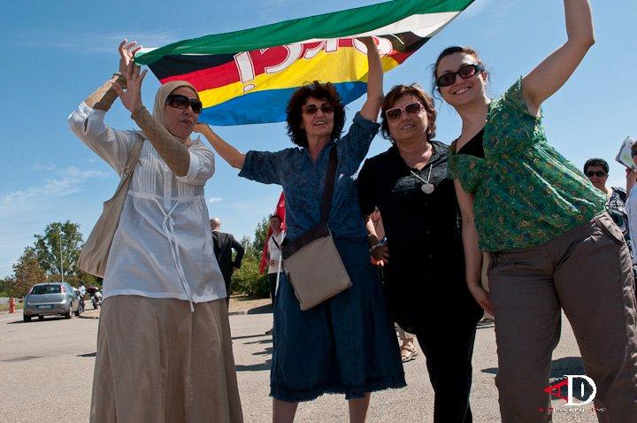 """""""LasciateCIEntrare"""": giornalisti e associazioni contro il """"bavaglio"""" sugli immigrati – Photogallery"""