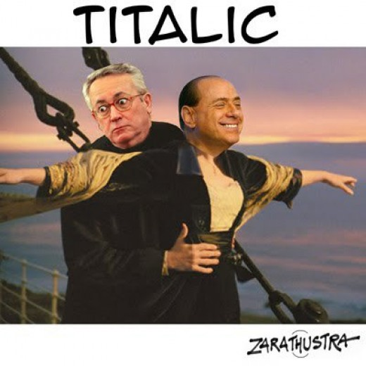 Titalic, l'Italia che affonda (vignetta)