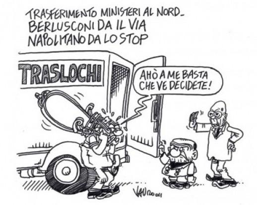Ministeri al nord (vignetta)