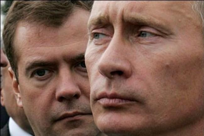 Putin vs. Medvedev, inizia la sfida
