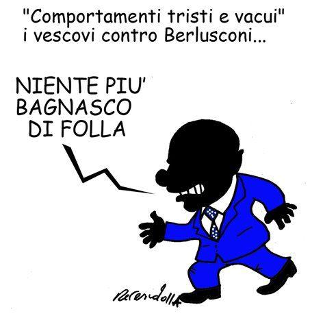 I vescovi contro Silvio (vignetta)