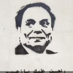 attacco ad Adel Imam, uno dei più celebri attori comici d'Egitto accusato di non aver sostenuto la rivoluzione.