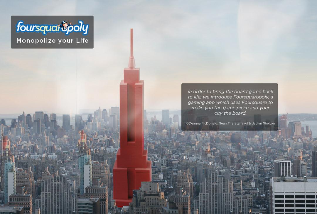 Foursquaropoly: e adesso compratevi le (vere) metropoli