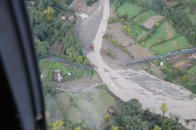 Alluvione in Lunigiana, sotto accusa la diga a monte