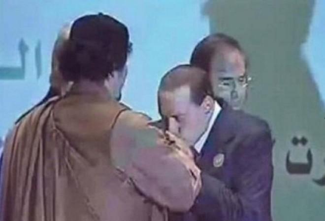 Il lungo viaggio di nozze tra Gheddafi e l'Italia