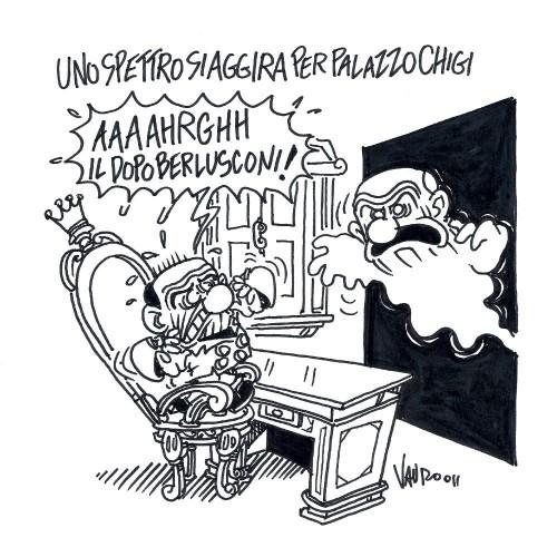 E per il dopo Berlusconi? (vignetta)