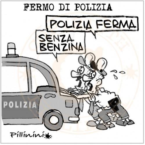 Fermo di polizia? (vignetta)
