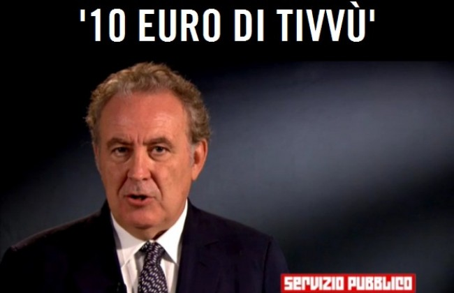 """Santoro ci riprova: (ri)nasce il """"Servizio Pubblico"""", con 10 euro"""