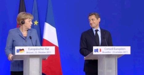 Bruxelles: domanda su Berlusconi. Merkel, Sarkozy e la sala stampa se la ridono