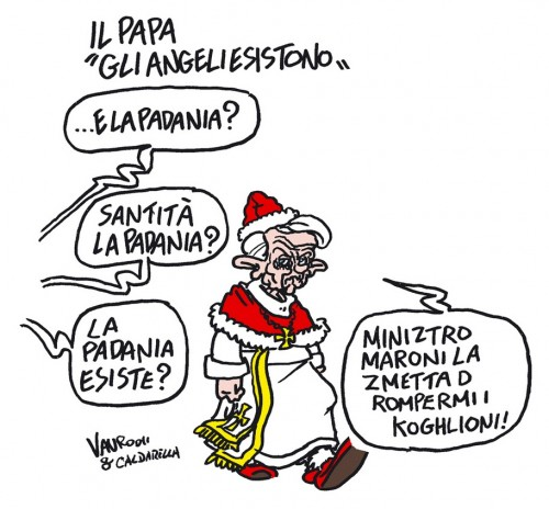 La Padania esiste? (vignetta)