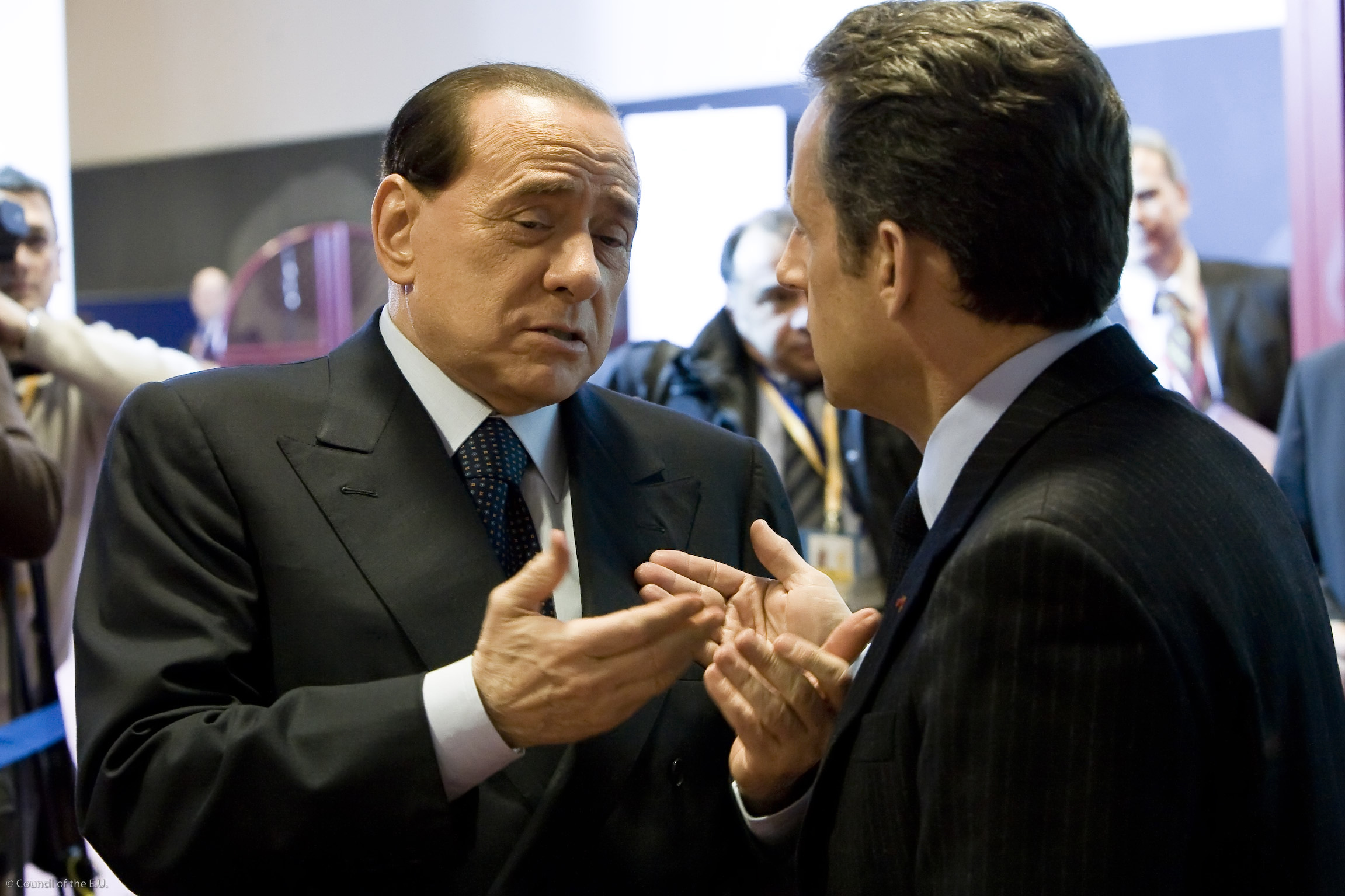 Berlusconi al G20: in Italia la crisi non si sente