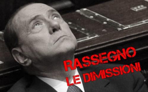 """Berlusconi: """"mi dimetto dopo la legge di stabilità"""" (video)"""