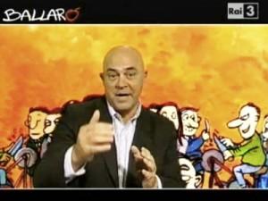 """Crozza a Ballarò, sulle """"dimissioni a tempo"""" di Berlusconi (8.11.2011)"""