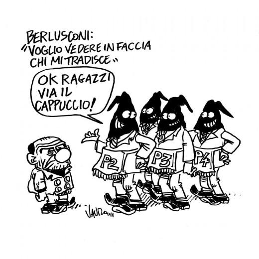 """Berlusconi: """"voglio vedere in faccia chi mi tradisce"""""""