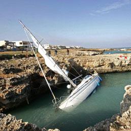 Il cimitero del Canale d'Otranto