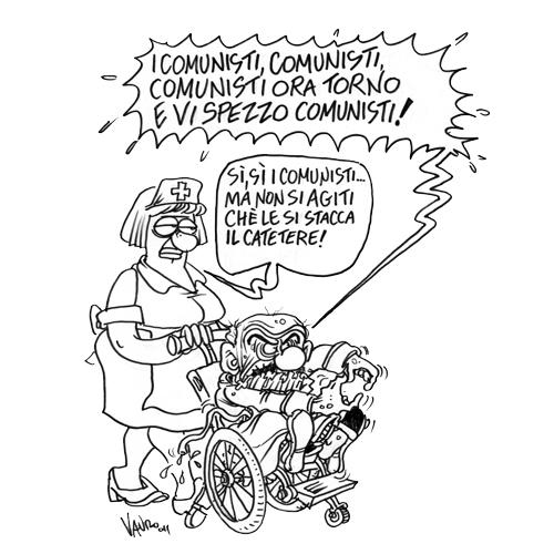 Il ritorno dei Comunisti – vignetta