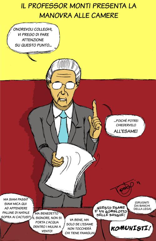 Toga Party @ Montecitorio – vignetta