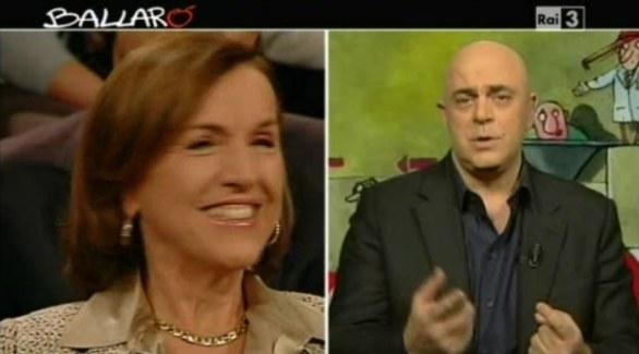 Ballarò, La commozione satirica di Maurizio Crozza 06.12.11 – video
