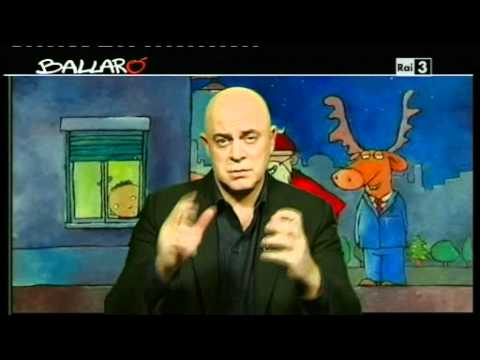 Ballarò, la copertina di Maurizio Crozza (20.12.11) – video