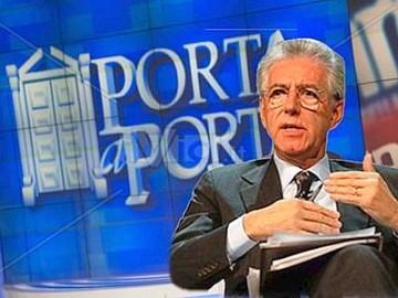 Porta a porta, Mario Monti spiega la manovra nel salotto di Vespa – video