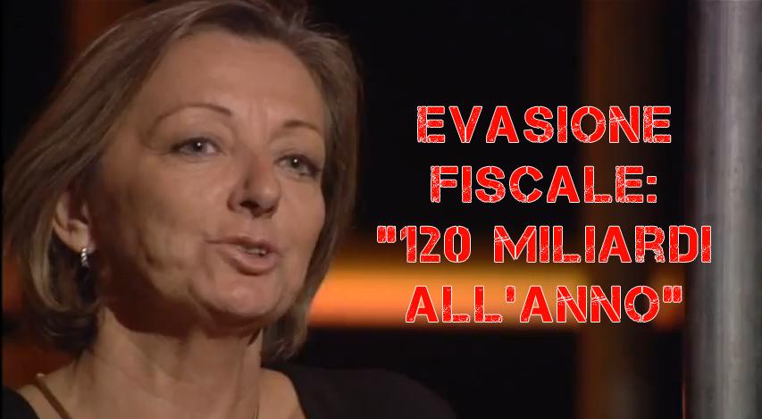"""Servizio Pubblico, """"120 miliardi di evasione fiscale ogni anno"""" – video"""