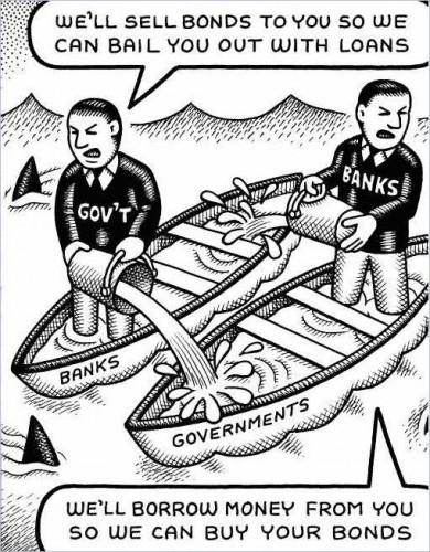 vignetta 390x500 La Bce finanzia le banche con 500 mld, ma chi finanzia le imprese?