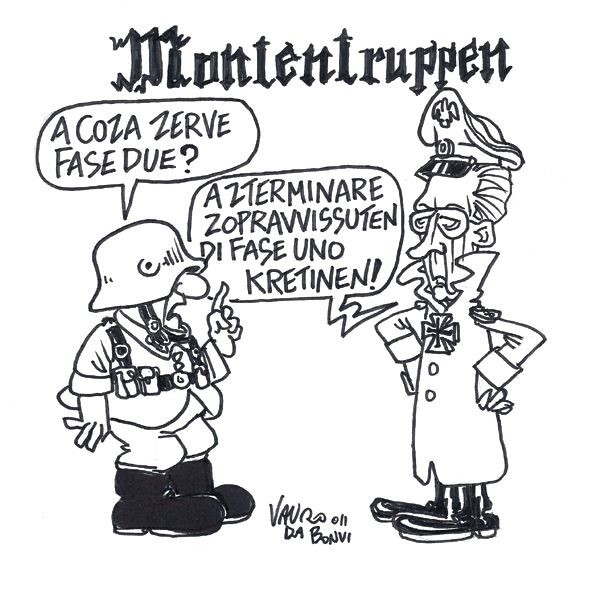 Governo Monti, via alla fase due? – vignetta